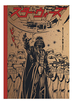 Caderno Star Wars - Japanese