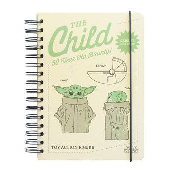 Caderno Star Wars: The Mandalorian - The Child