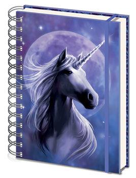 Caderno  Anne Stokes - Unicorn Starlight