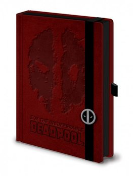 Caderno Dead Pool - Premium A5 Notebook