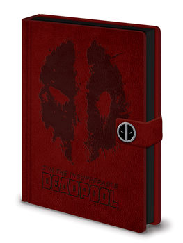 Caderno  Deadpool - Splat