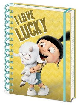 Caderno  Despciable Me 3 - I Love Lucky