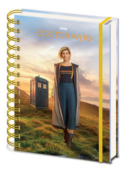 Caderno  Doctor Who - 13th Doctor