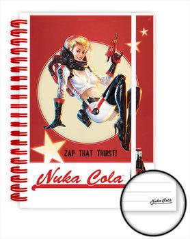 Caderno  Fallout 4 - Nuka Cola