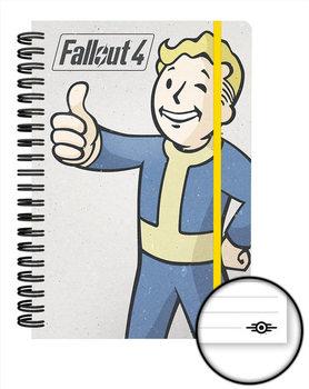 Caderno Fallout 4 - Vault Boy