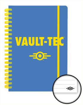 Caderno Fallout 4 - Vault Tec