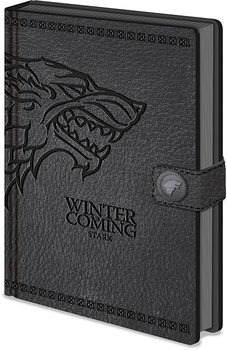 Caderno  Game Of Thrones - (Stark) Clasp Premium