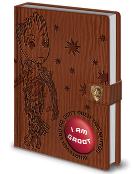 Caderno  Guardians of the Galaxy Vol. 2 - I Am Groot - PREMIUM LIMITED SOUND NOTEBOOK