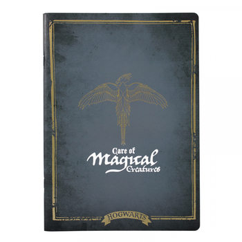 Caderno  Harry Poter - Magical Creatures A4