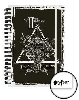 Caderno Harry Potter and the Deathly Hallows - Graphic