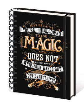 Caderno Harry Potter - Magic