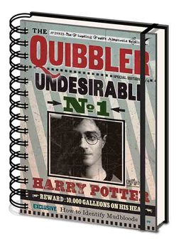 Caderno Harry Potter - Quibbler