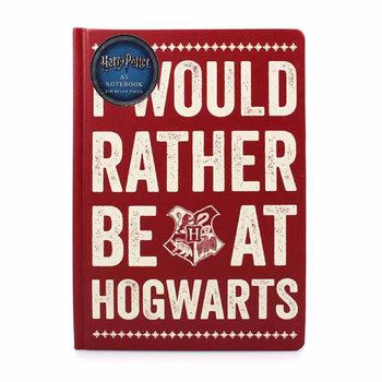 Caderno  Harry Potter - Rather Be At Hogwart