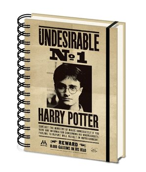 Caderno Harry Potter - Sirius & Harry 3D Cover