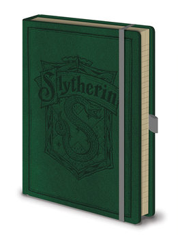 Caderno Harry Potter - Slytherin A5 Premium