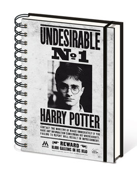Caderno  Harry Potter - Undesirable No1