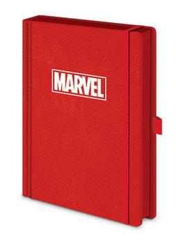 Caderno  Marvel - Logo