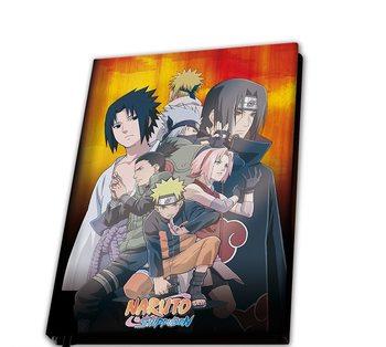 Caderno Naruto Shippuden - Konoha Group