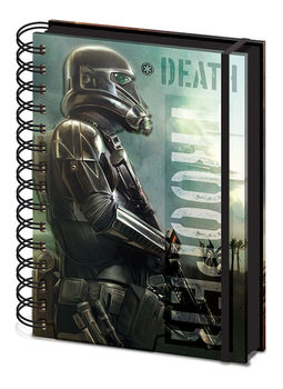 Caderno Rogue One: Star Wars Story - Death Trooper A5 Notebook