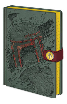 Caderno Star Wars - Boba Fett Art