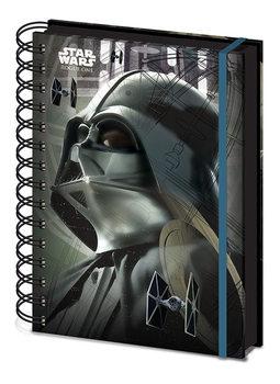 Caderno Star Wars Rogue One - Darth Vader A5 Notebook