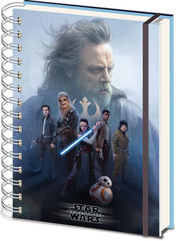 Caderno  Star Wars The Last Jedi - Cast