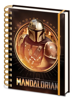 Caderno Star Wars: The Mandalorian - Bounty Hunter
