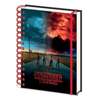 Caderno  Stranger Things - Mind Flayer 3D Cover