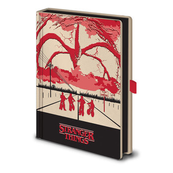 Caderno Stranger Things - Mind Flayer (Light Up)