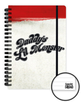 Caderno  Suicide Squad - Daddy's Lil Monster