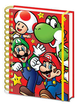 Caderno  Super Mario - Run