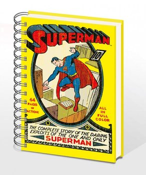 Caderno SUPERMAN NO.1 – notebook A4