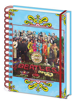 Caderno  The Beatles - Sgt, Pepper's Lonely Hearts