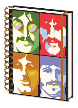 Caderno  The Beatles - Yellow Submarine - Faces