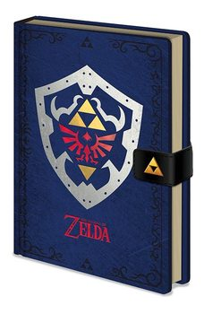 Caderno The Legend of Zelda - Hylian Shield