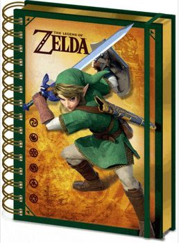 Caderno The Legend Of Zelda - Link
