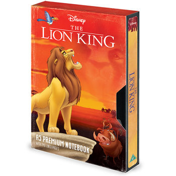 Caderno  The Lion King - Circle of Life VHS