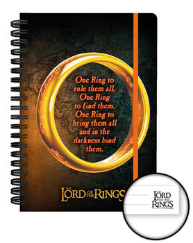 Caderno The Lord of the Rings - One Ring