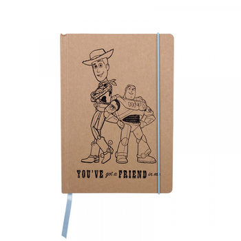 Caderno  Toy Story - Woody and Buzz A5