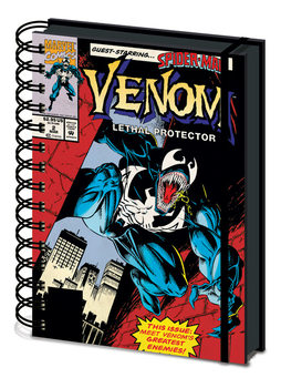 Caderno  Venom - Lethal Protection