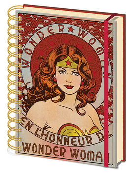 Caderno  Wonder Woman - En L'Honneur De