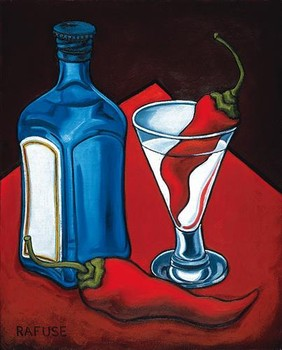 CAJUN MARTINI Reproduction d'art