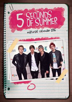 Calendar 2018 5 Seconds of Summer