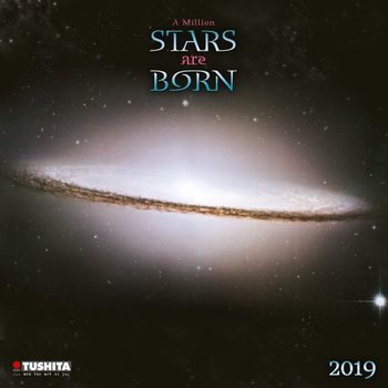 Calendar 2019  A Million Stars are Born