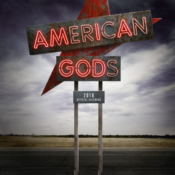 Calendar 2018 American Gods