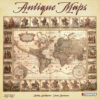 Calendar 2020  Antique Maps