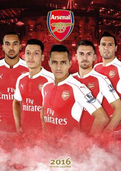Calendar 2017 Arsenal FC