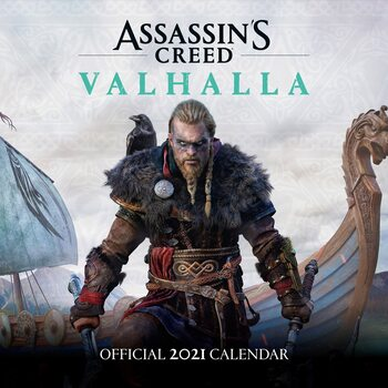 Calendar 2021 Assassin's Creed: Valhalla