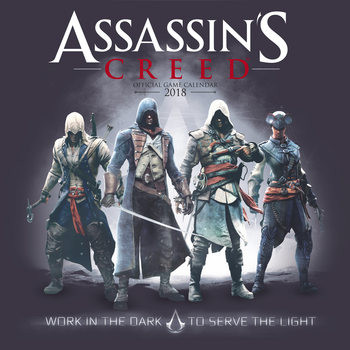 Calendar 2018 Assassins Creed Game