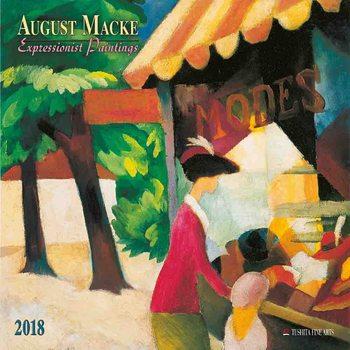 Calendar 2018 August Macke